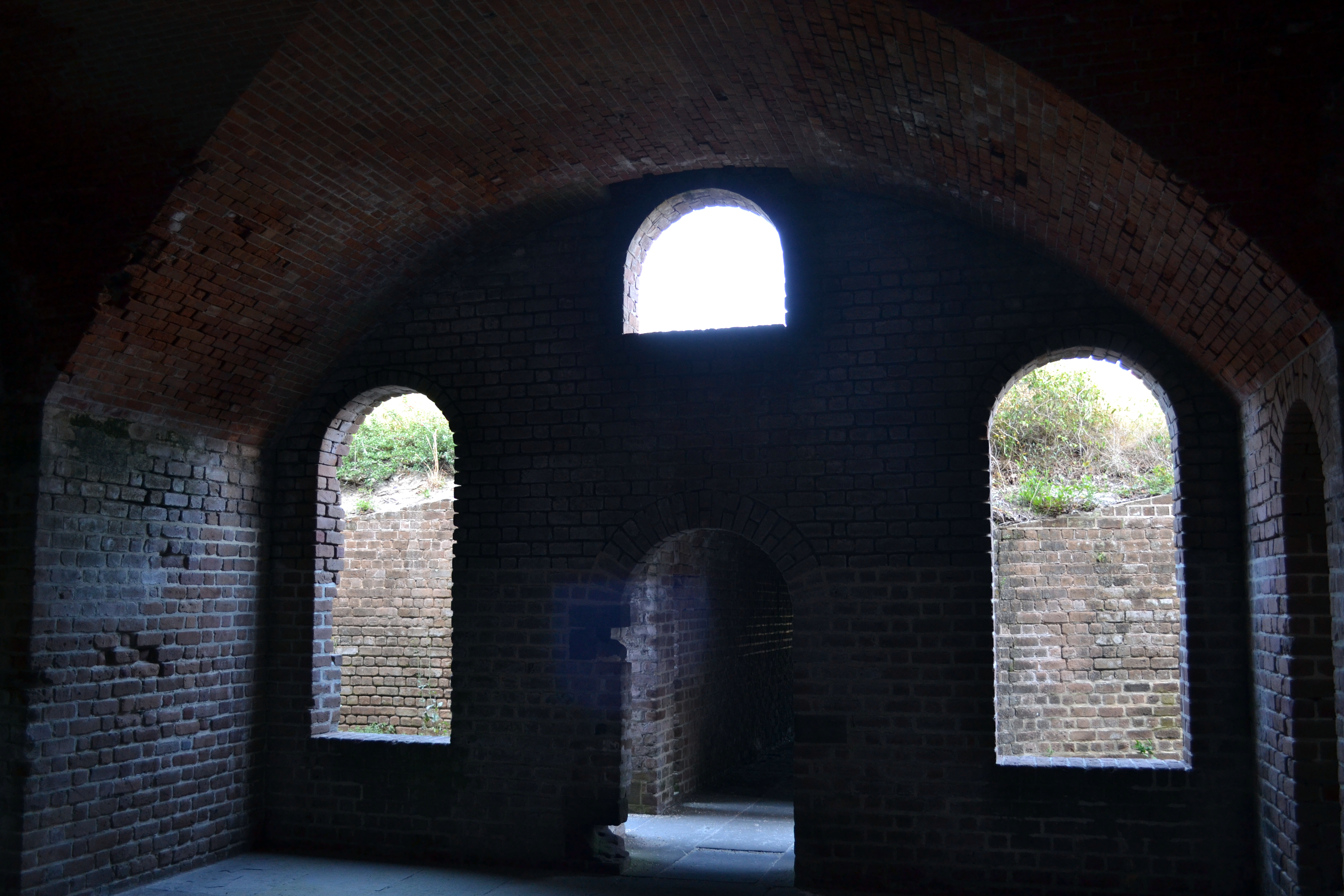 bastion windows Fort Clinch Fernandina Beach Florida ghosts haunted