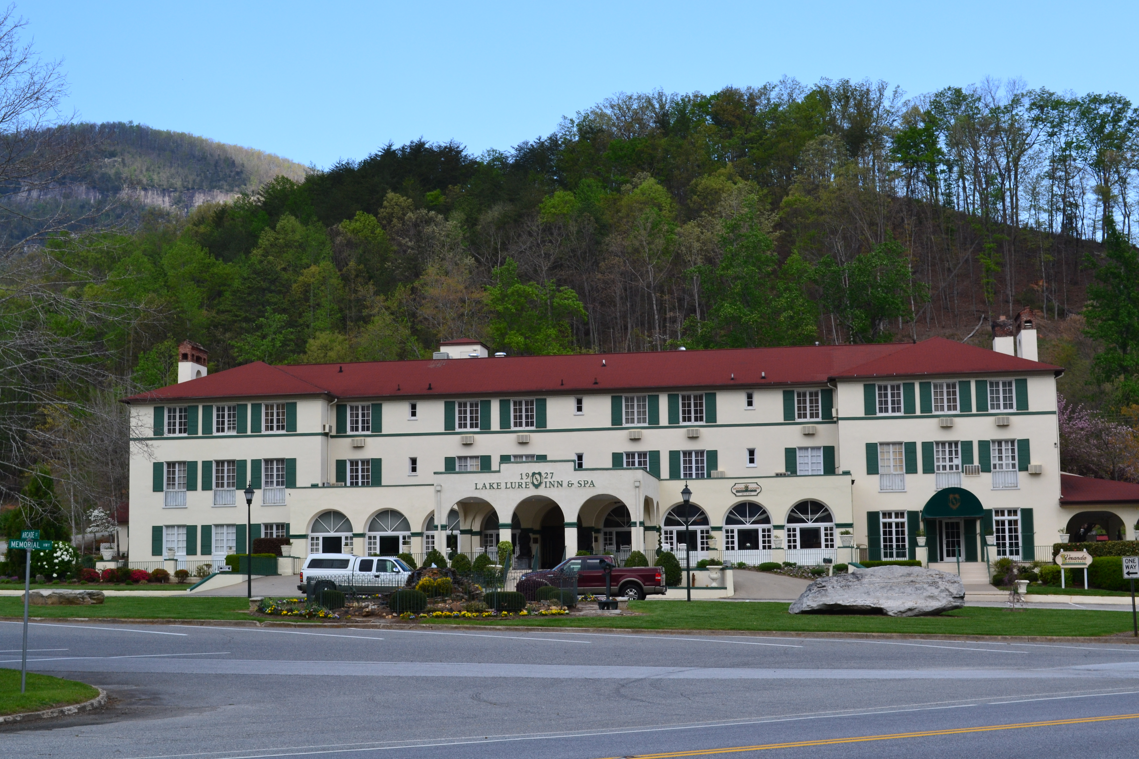 Lake Lure Inn North Carolina ghosts haunted