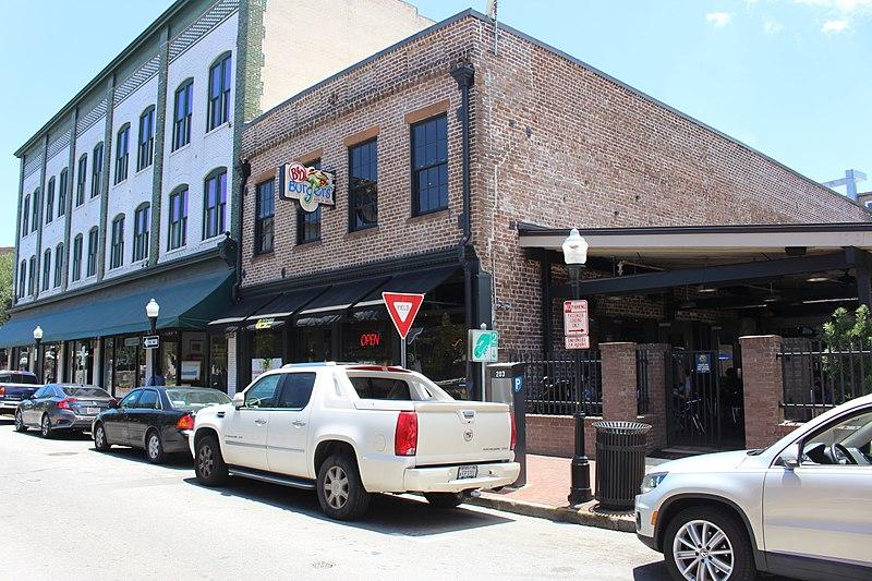 B & D Burgers Savannah Georgia haunted