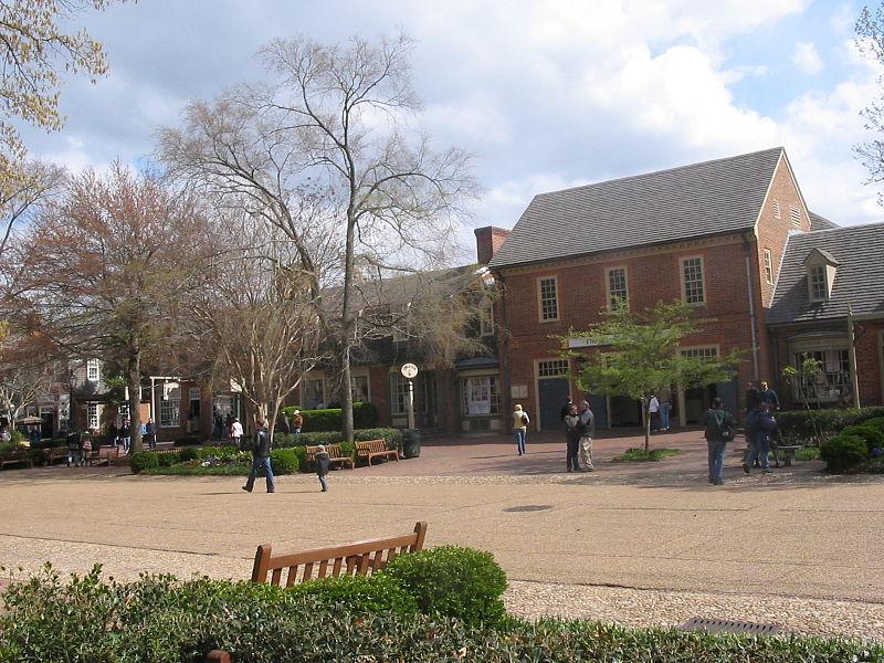 haunted Merchants Square Williamsburg Virginia Kimball Theatre ghosts Civil War