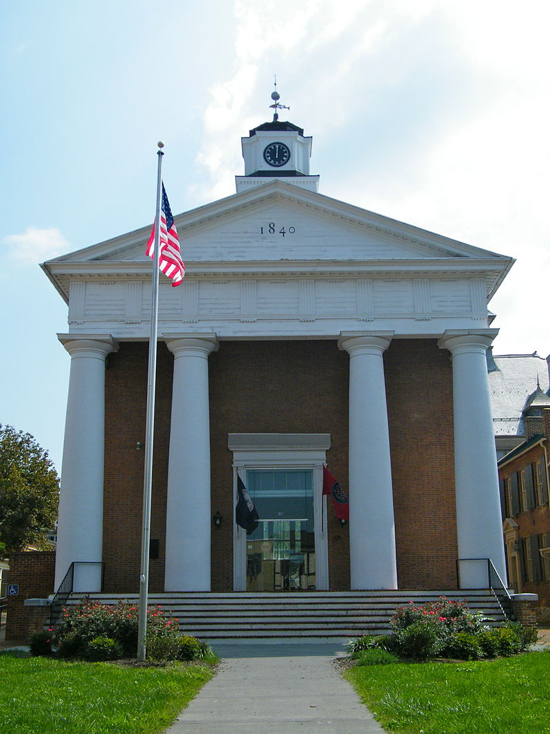 old frederick county courthouse winchester virginia