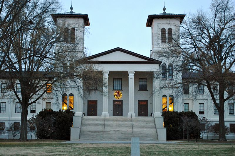 Old Main Wofford College Spartanburg South Carolina