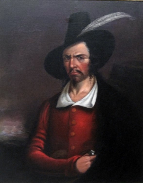 portrait of Jean Lafitte New Orleans pirate ghost legend