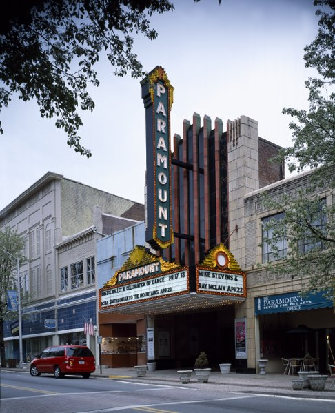 Paramount Center for the Performing Arts Bristol Tennessee