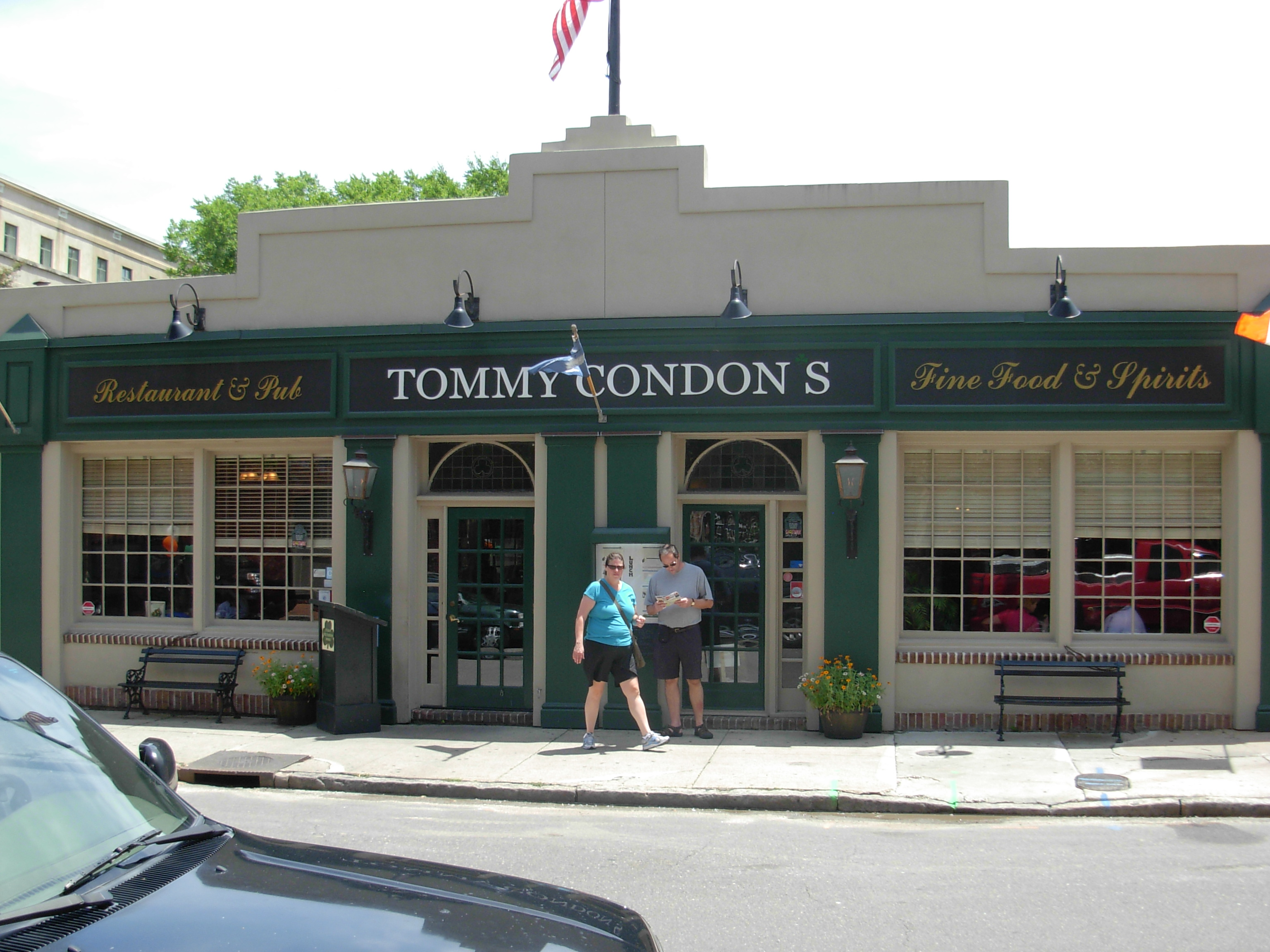 Tommy Condon's Irish Pub Charleston SC ghosts haunted