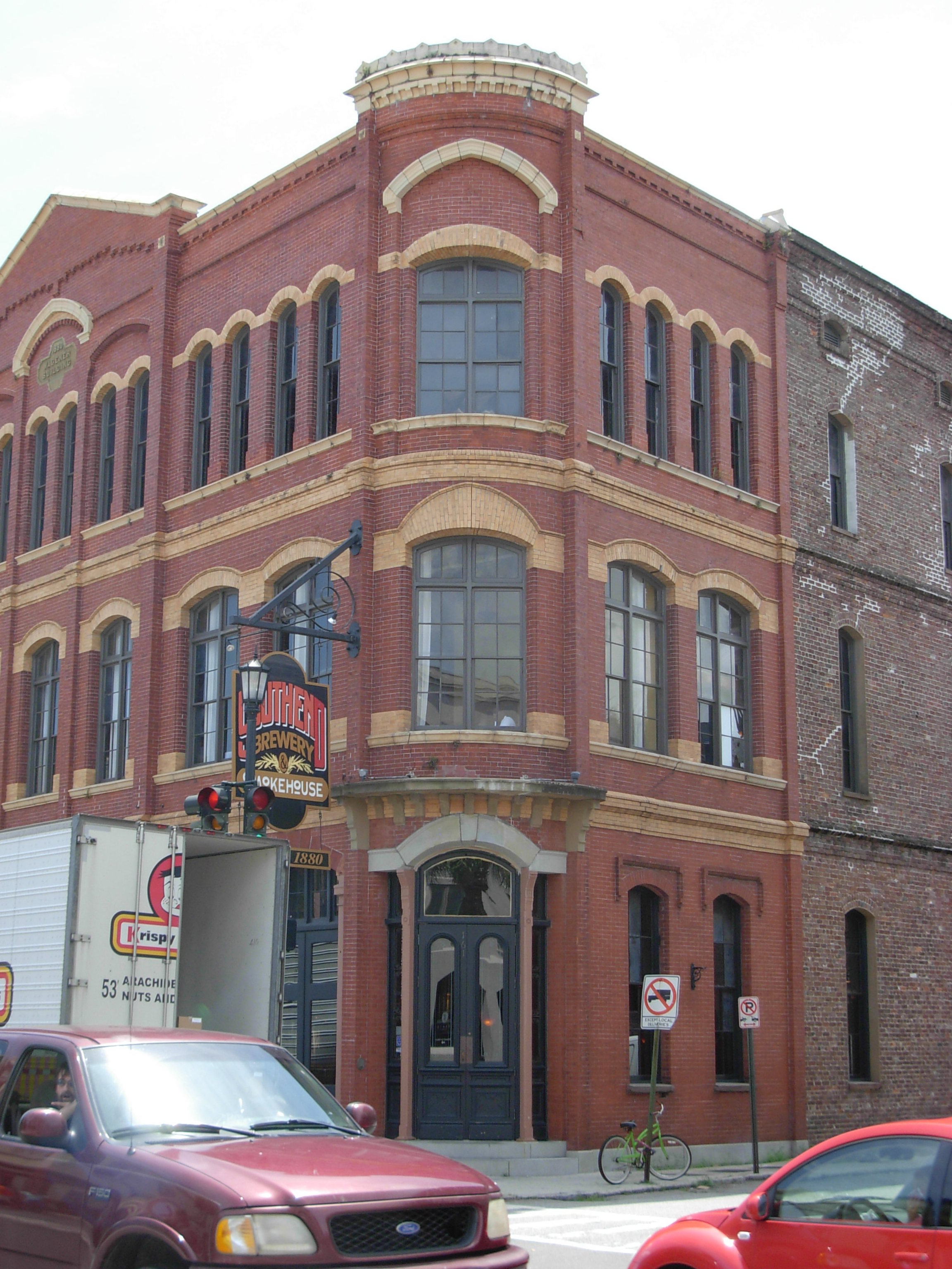 Southend Brewery Charleston SC ghosts haunted