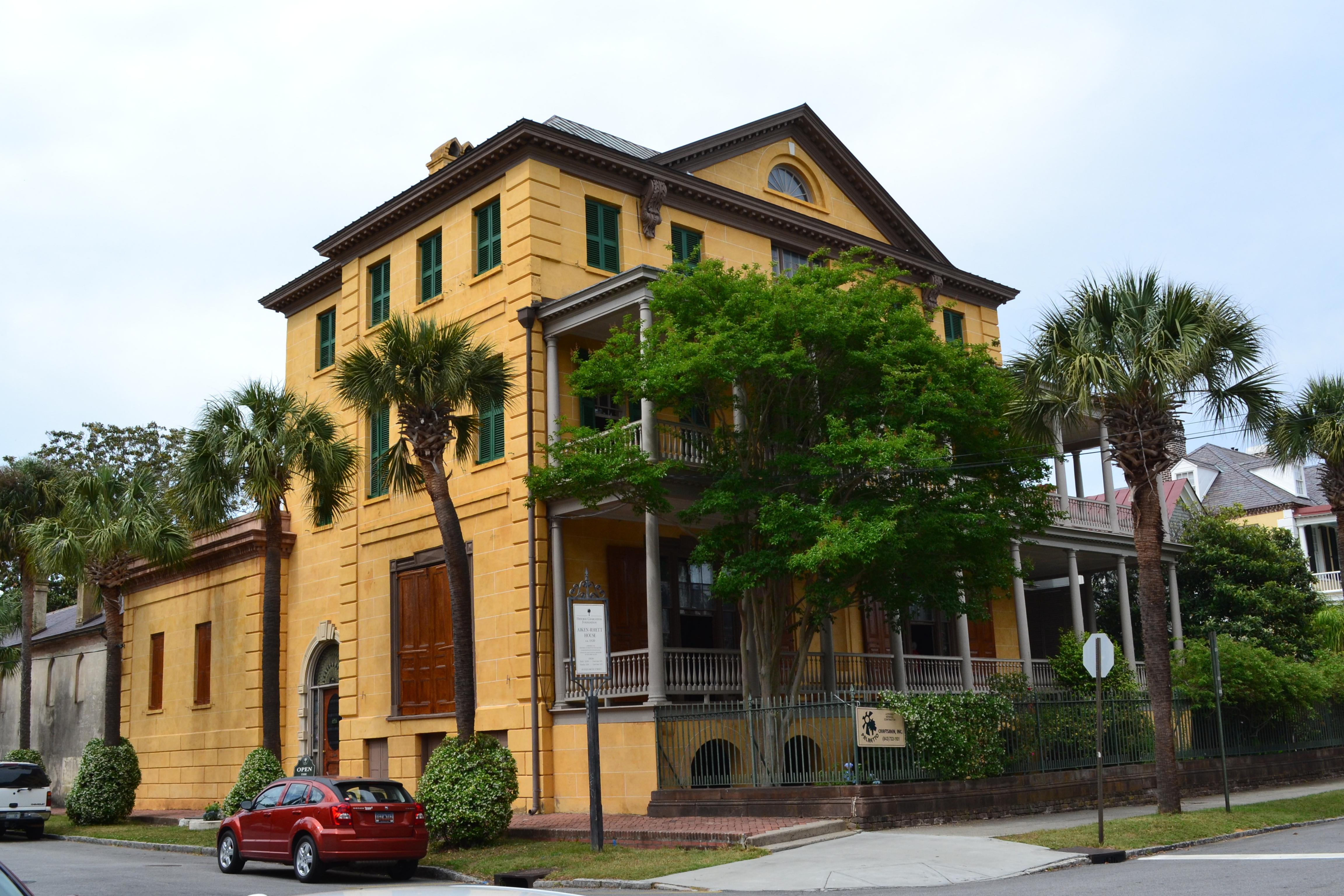 Aiken-Rhett House Charleston SC ghosts haunted