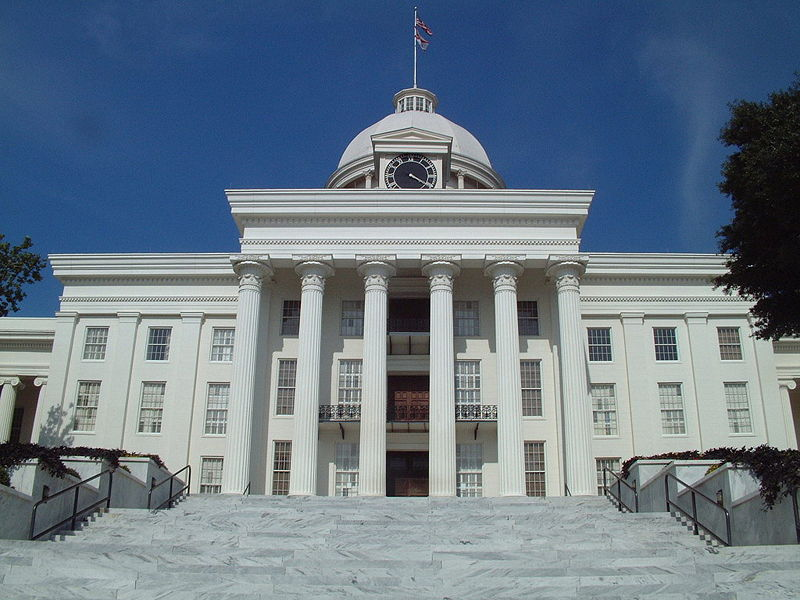 haunted Alabama State Capitol Montgomery ghost