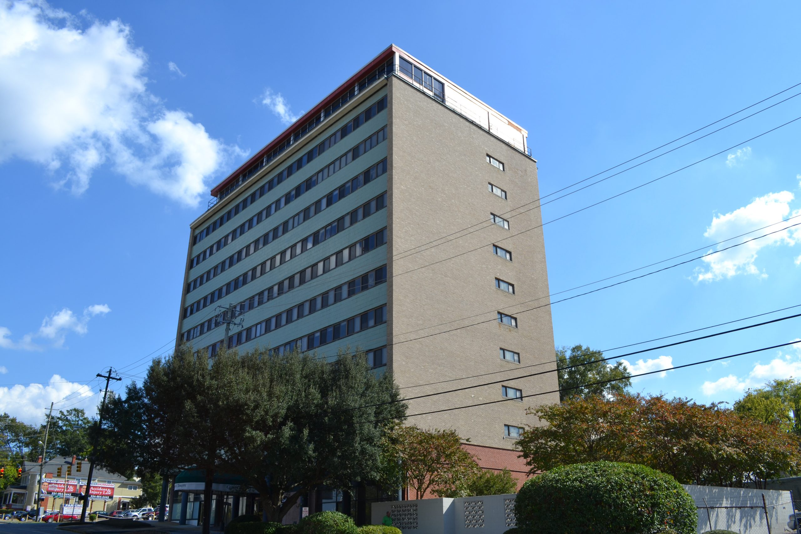 Capitol Towers Apartments Montgomery Alabama haunted