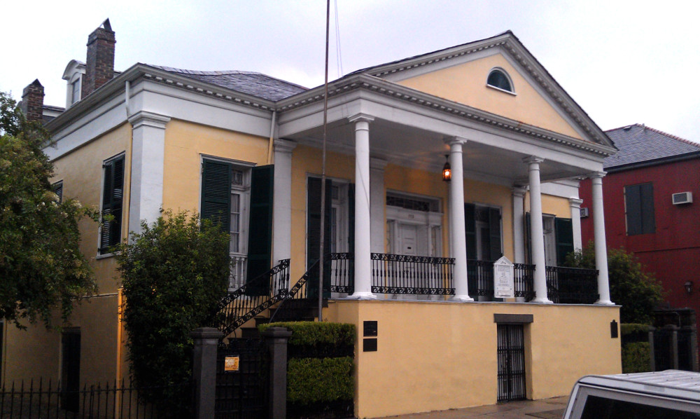 Beauregard-Keyes House French Quarter New Orleans ghosts haunted