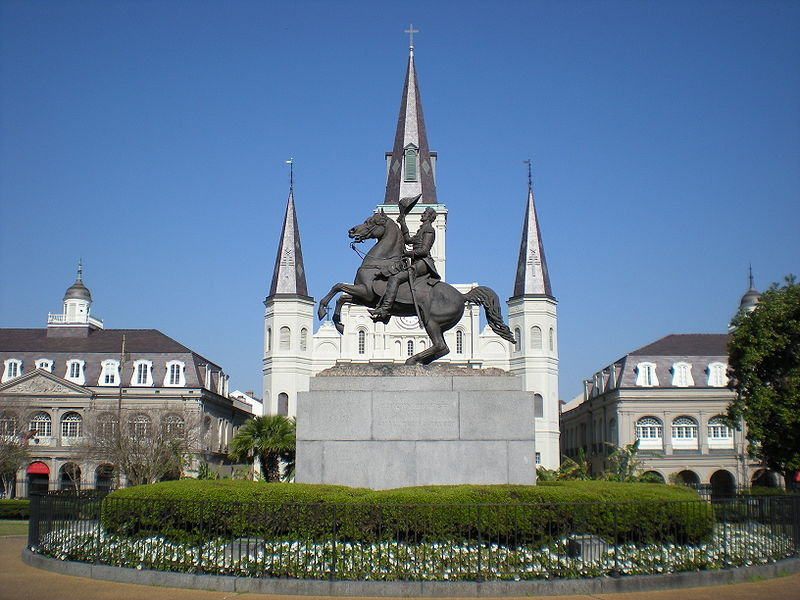 Jackson Square French Quarter New Orleans ghosts haunted street by street guide