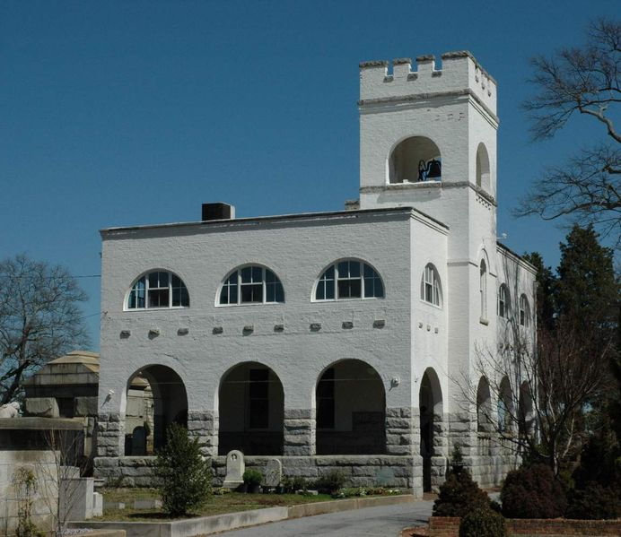 Oakland Cemetery Bell Tower and Keeper's Lodge