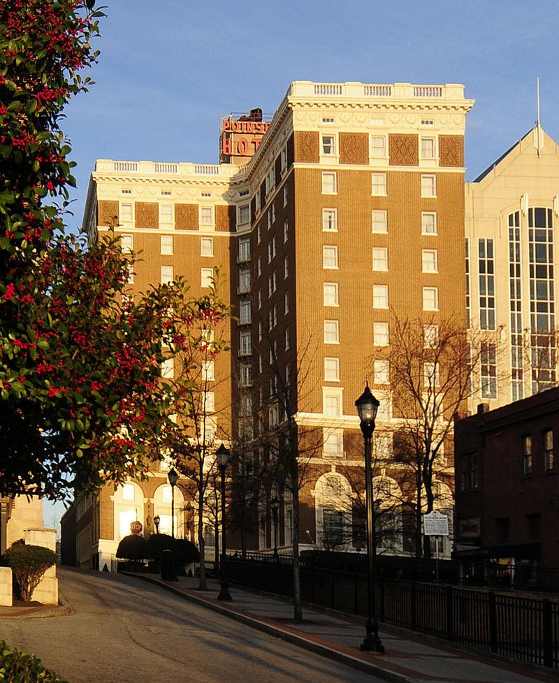 West Poinsett Hotel Greenville South Carolina