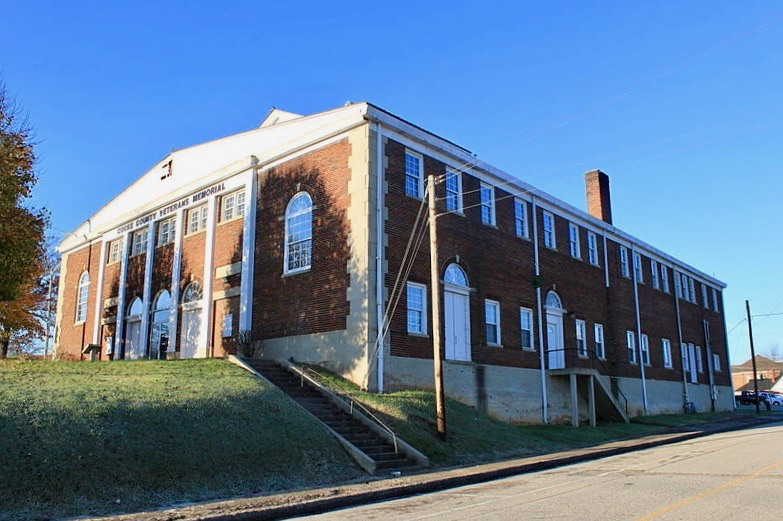 haunted Tennessee Cocke County Memorial Building Newport ghosts