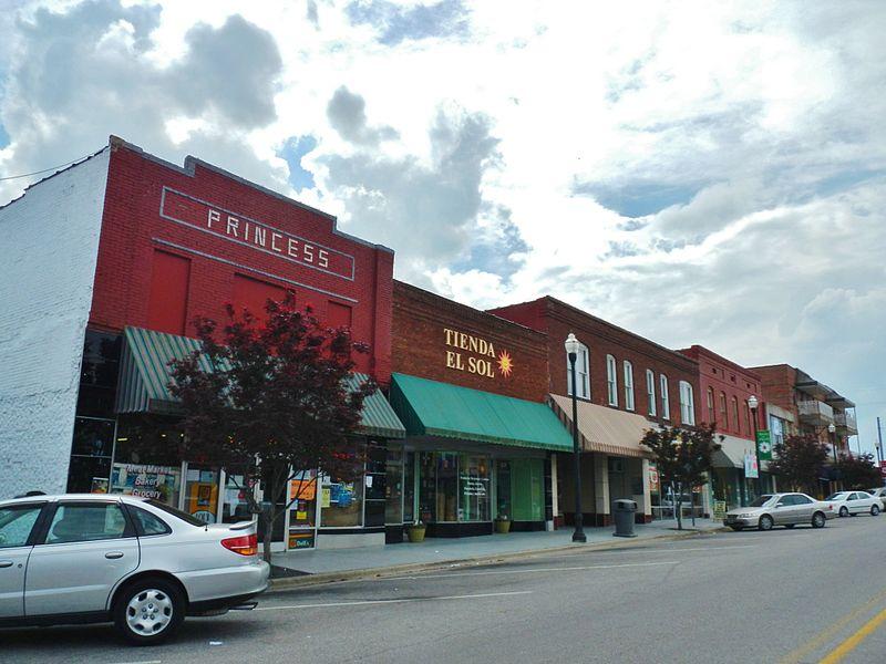 Main Street Albertville Alabama
