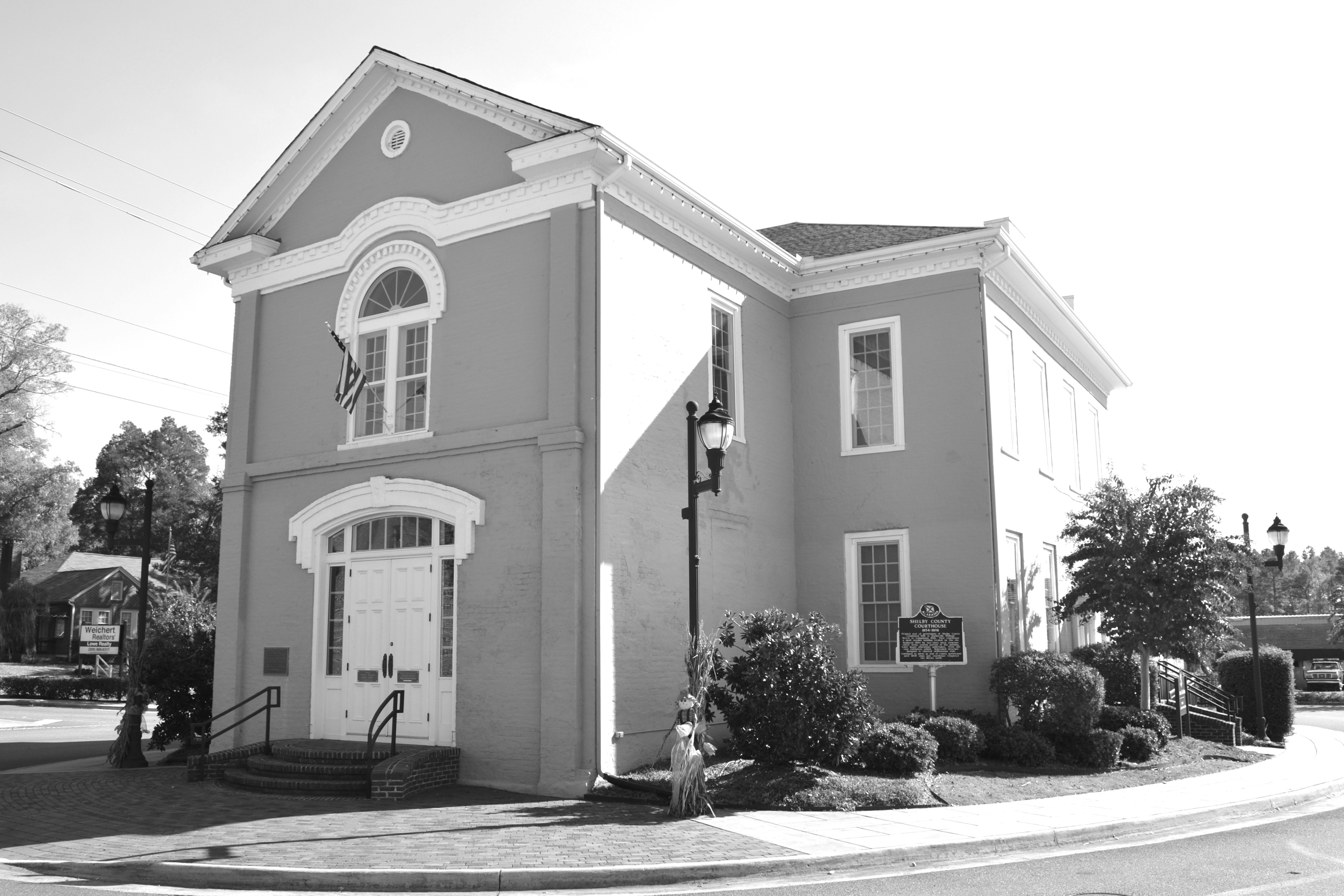Old Shelby County Courthouse Columbiana Alabama