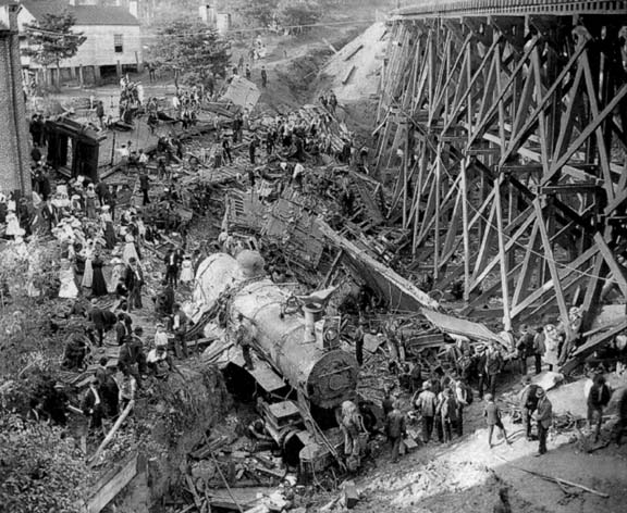Wreck of the Old '97 Danville Virginia ghosts haunted 1903