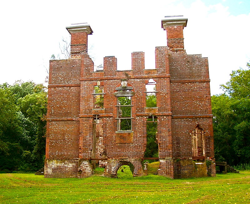 Rosewell ruins Virginia ghosts haunted