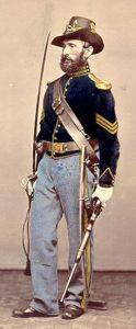 Union Cavalry sergeant 1866 Oliver H. Willard Kennesaw battlefield Georgia haunted ghosts