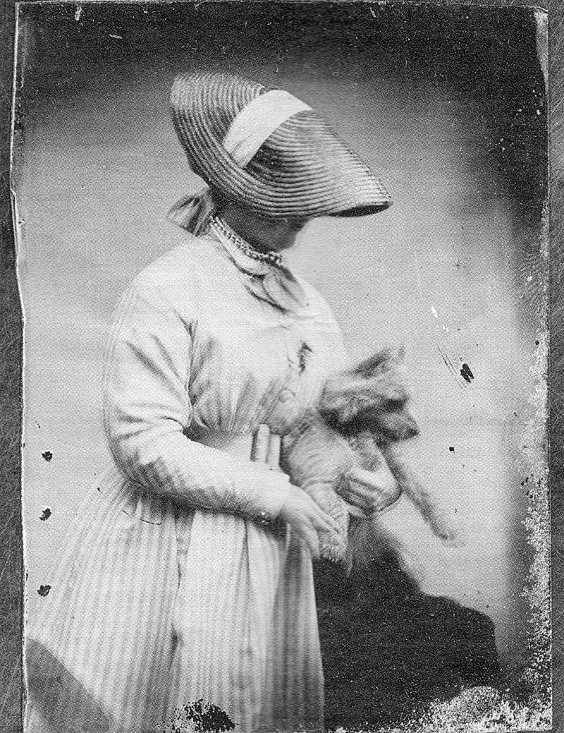 Clover Adams self-portrait 1860