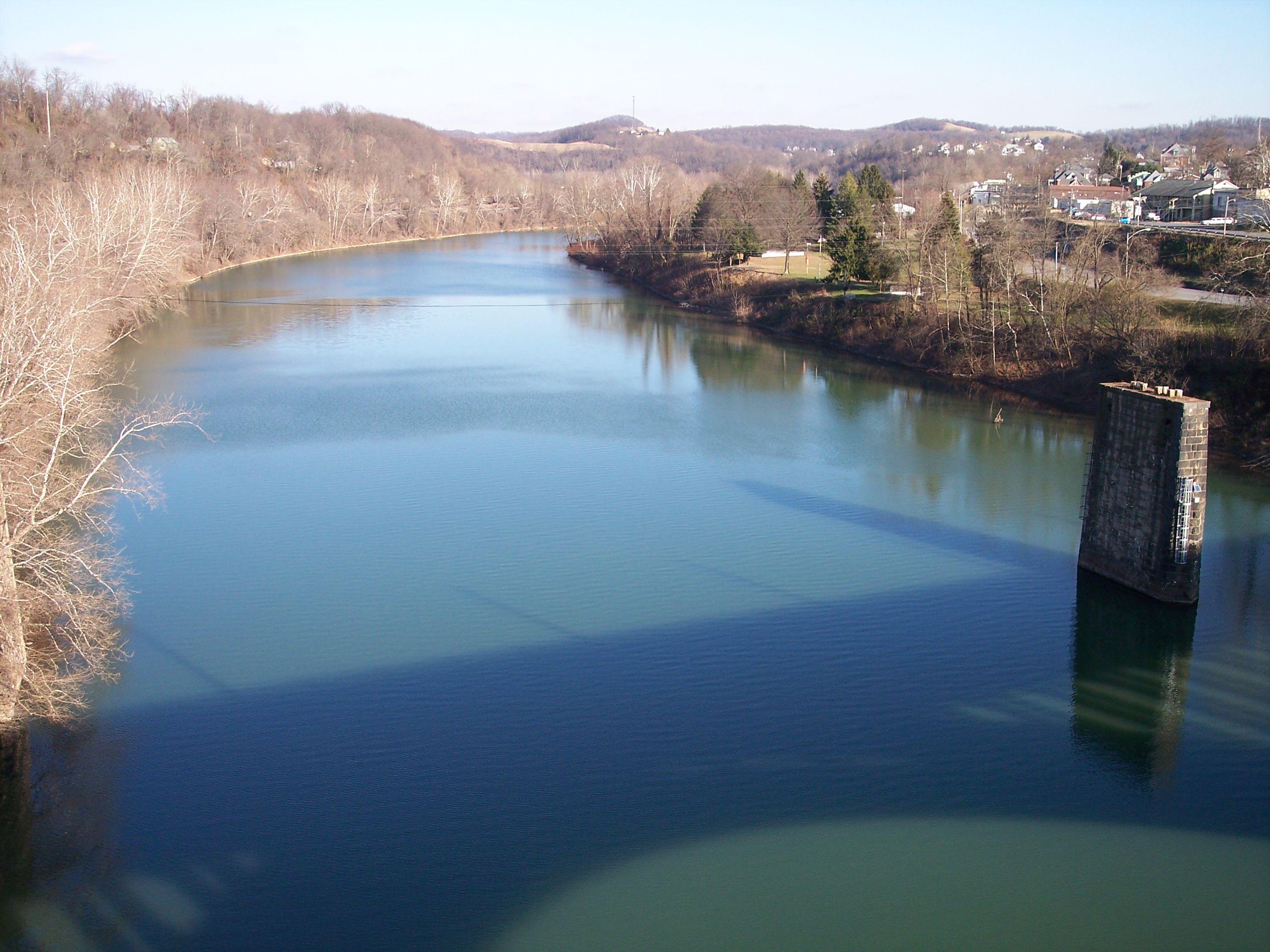 Monongahela River Fairmont West Virginia