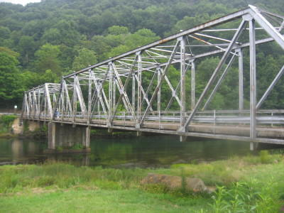 Siam Steel Bridge Elizabethton Tennessee haunted ghost