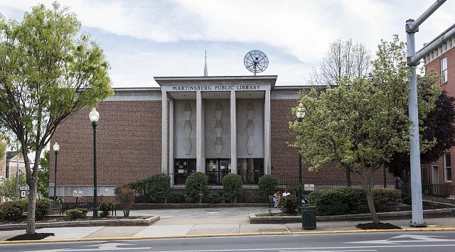 Martinsburg Public Library West Virginia haunted ghosts
