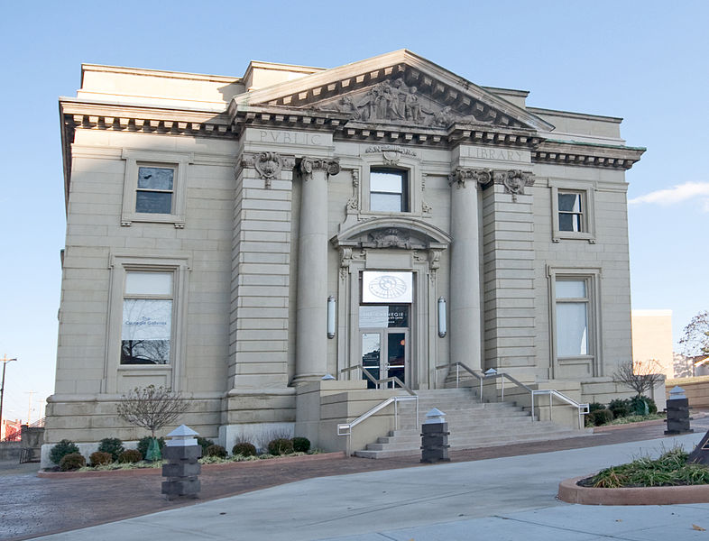 Covington Kentucky Carnegie Library ghost haunted