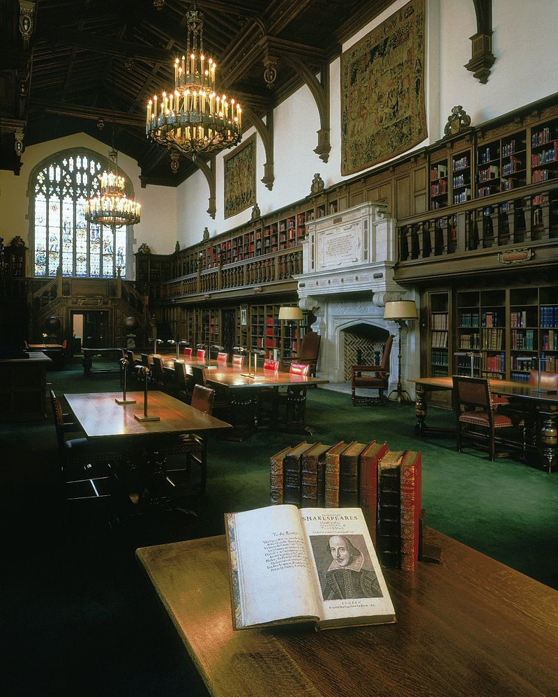 ghost Folger Shakespeare Library Reading Room Washington DC ghost