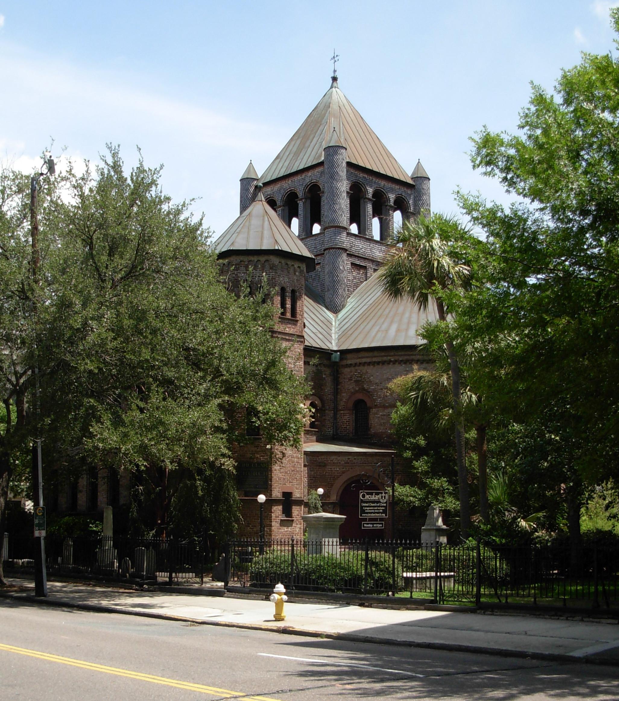 Circular Congregational Church Charleston SC ghosts haunted
