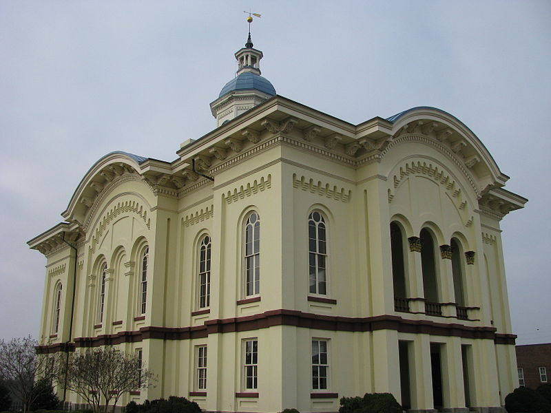 haunted Caswell County Courthouse Yanceyville North Carolina ghosts spirits