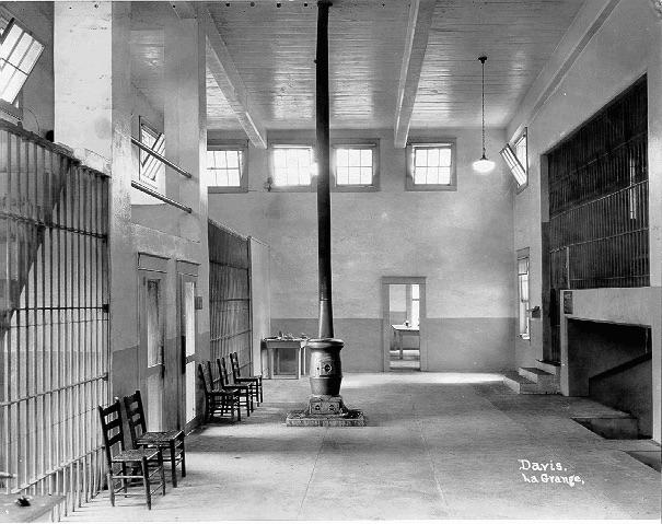 interior Troup County Georgia stockade