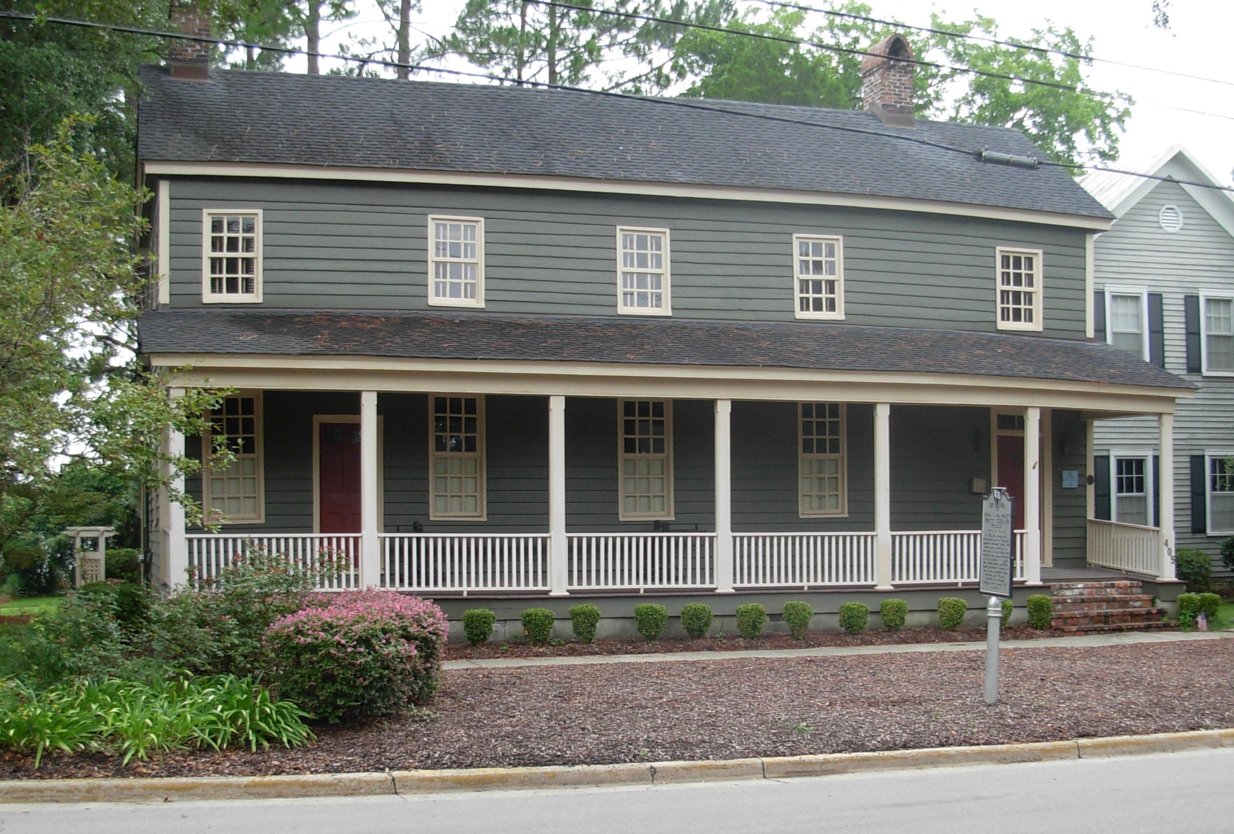 Cleland House Georgetown South Carolina ghost haunted
