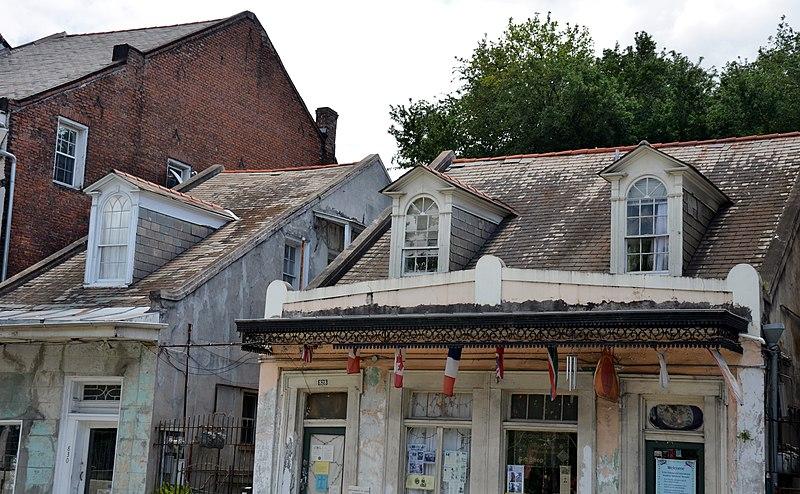 North Rampart Street Murder House New Orleans