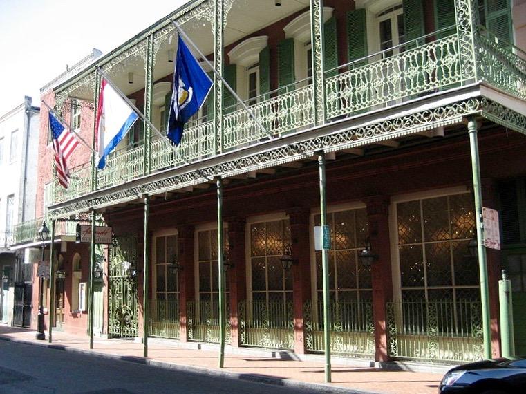 Arnaud's Restaurant Bienville Street French Quarter New Orleans ghosts haunted