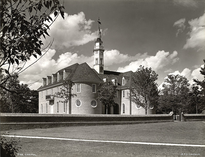 Old Capitol Williamsburg Virginia ghosts haunted