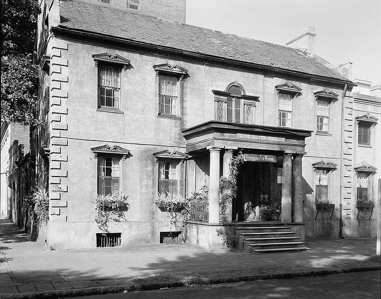 Olde Pink House Savannah Georgia ghosts haunted