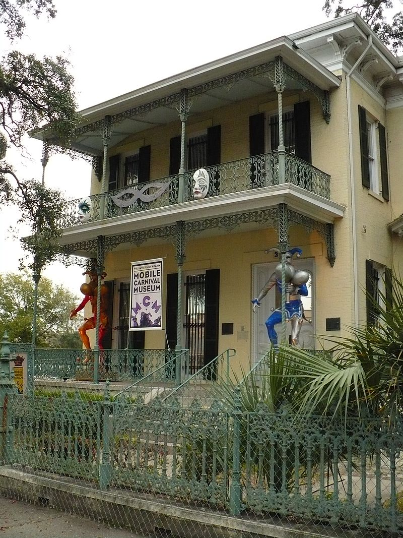 Carnival Museum of Mobile Alabama ghost haunted