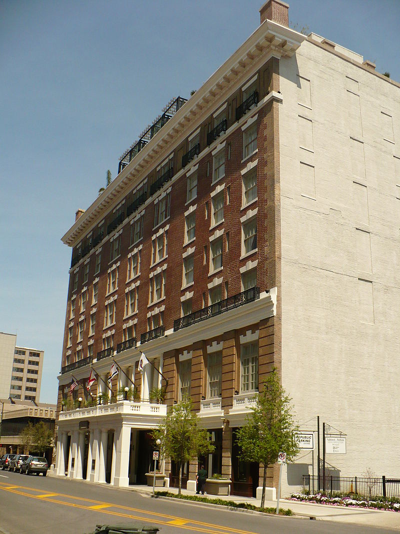 Battle House Hotel Mobile Alabama ghosts haunted