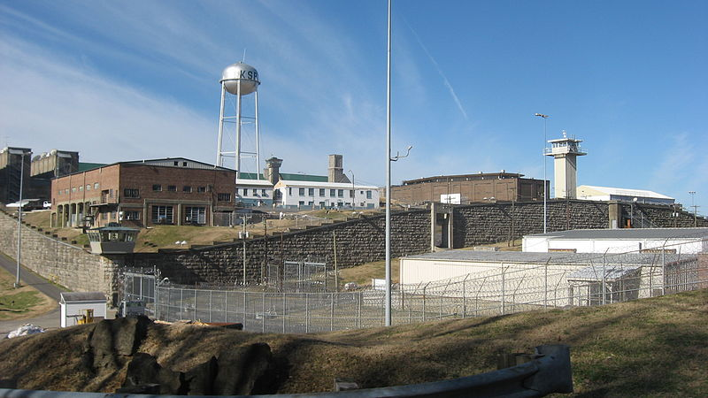 Eastern view of the Kentucky State Penitentiary