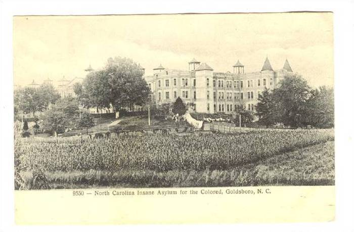 An undated postcard of Cherry Hospital.