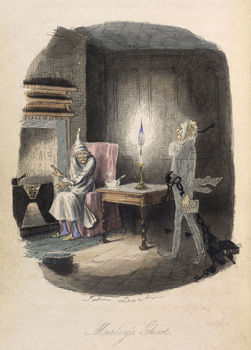 Marley's Ghost from Dickens A Christmas Carol