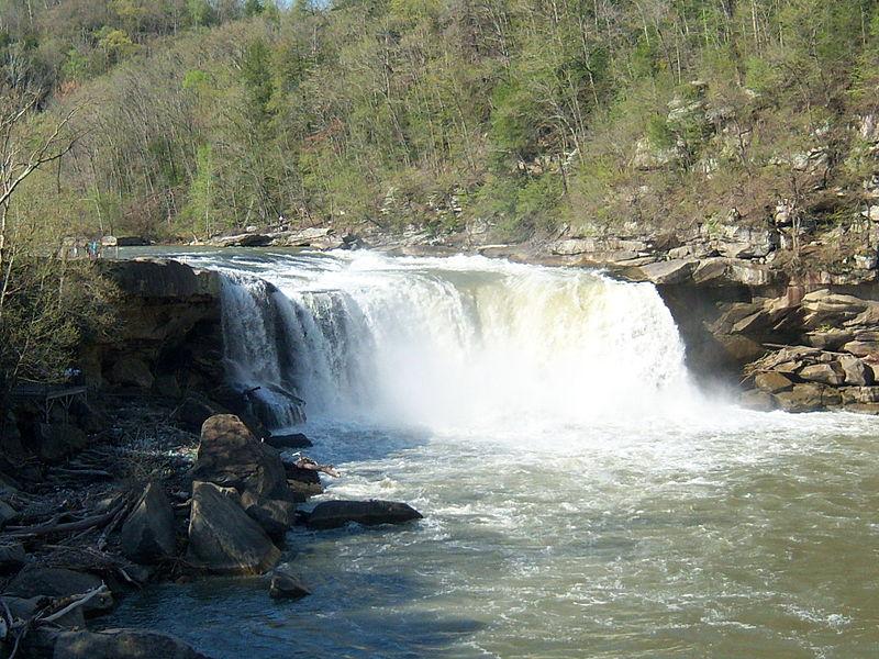 ghosts haunted Cumberland Falls State Resort Park Corbin Kentucky