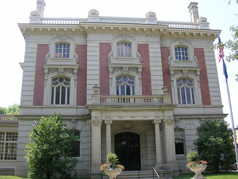 ghosts haunted Filson Historical Society Ferguson Mansion Louisville Kentucky