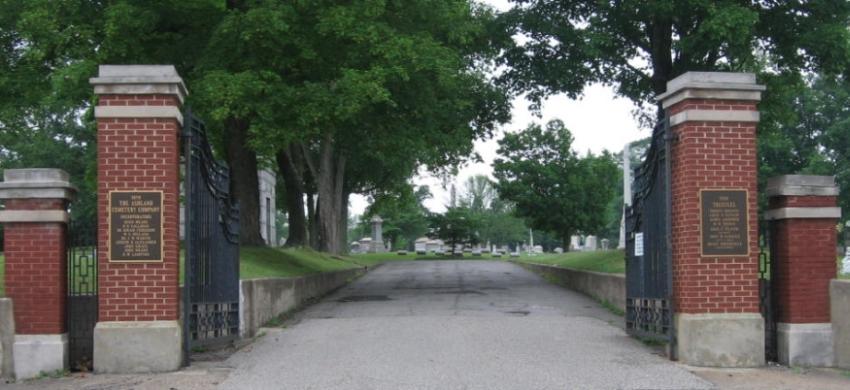 Ashland Cemetery Kentucky