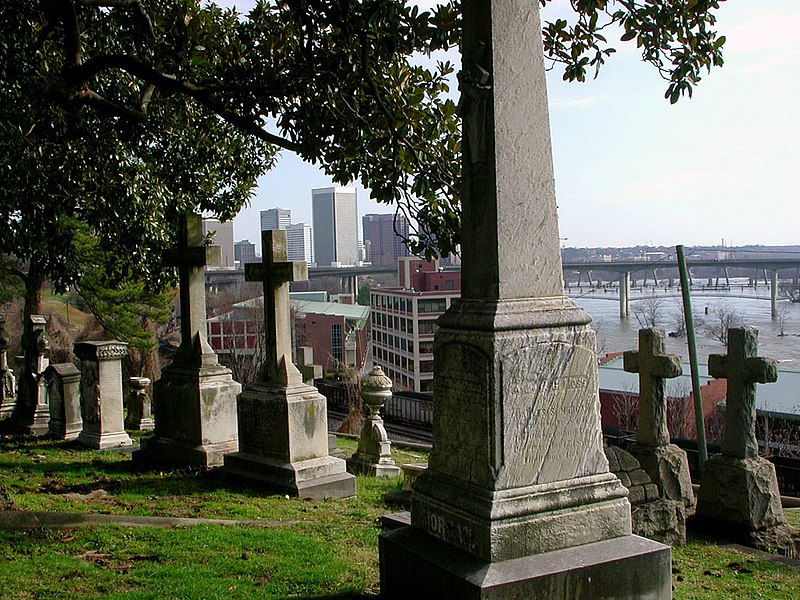 Hollywood Cemetery Richmond Virginia