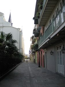 Pirate Alley New Orleans