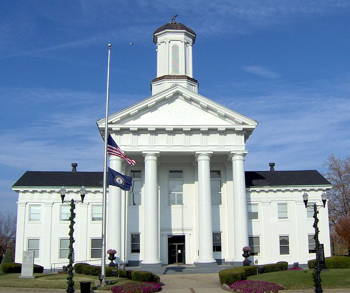 Madison County Kentucky courthouse Richmond
