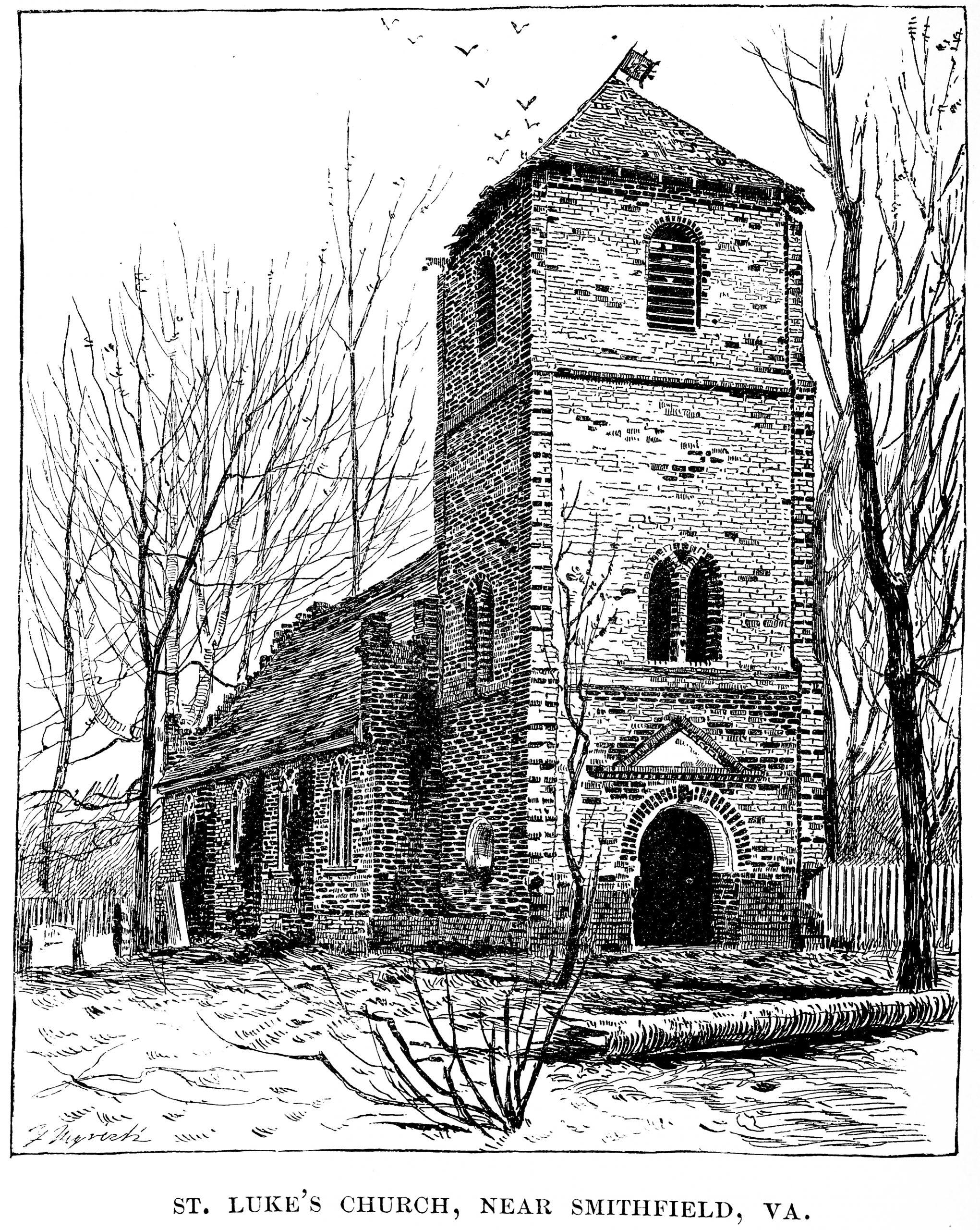 St Luke's Church Smithfield Virginia