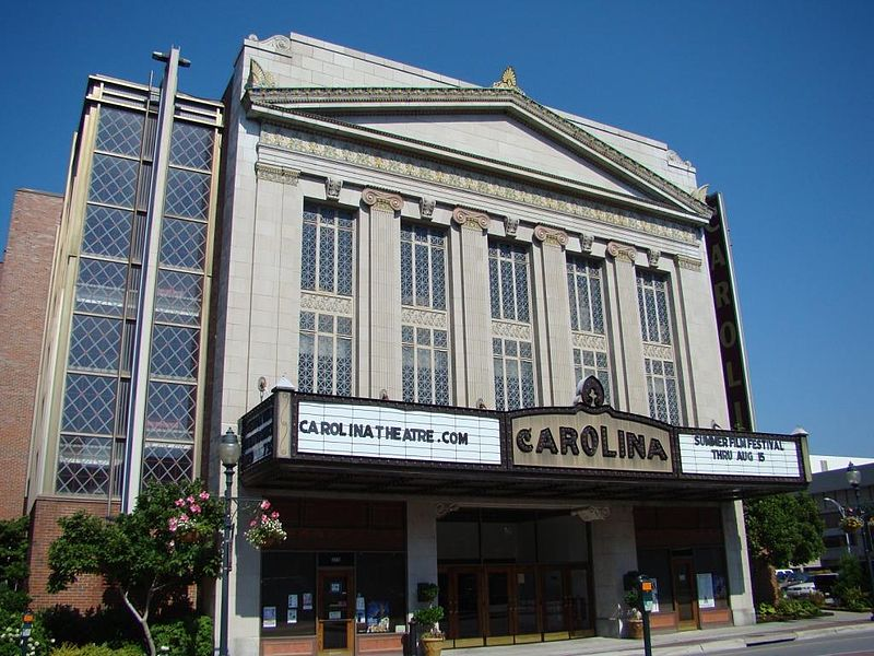 Carolina Theatre Greensboro North Carolina